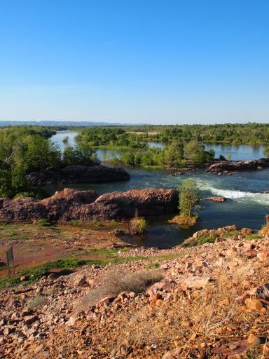 Kununurra的Ord river