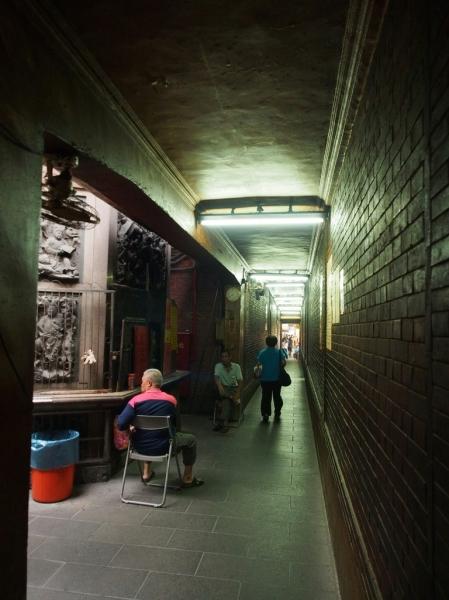 這條廊道真的很有fu...