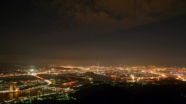 Night landscape of Taipei